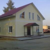 Окончание строительства двухэтажного коттеджа в  г. Кораблино